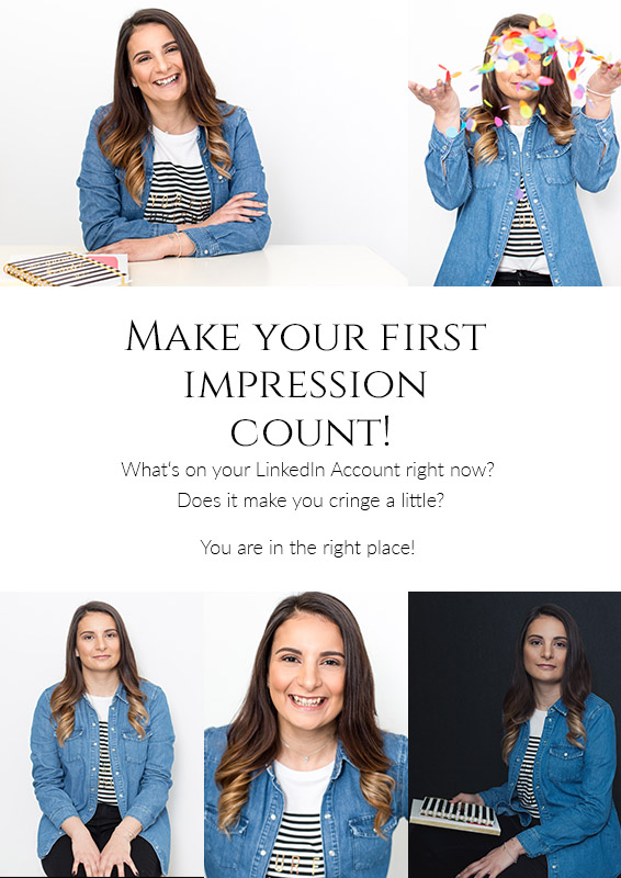 Make the right first impression with a Personal Branding Session
